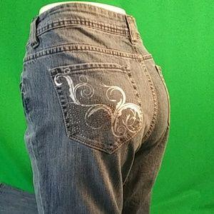 Jordache premium jeans size 10 mid rise